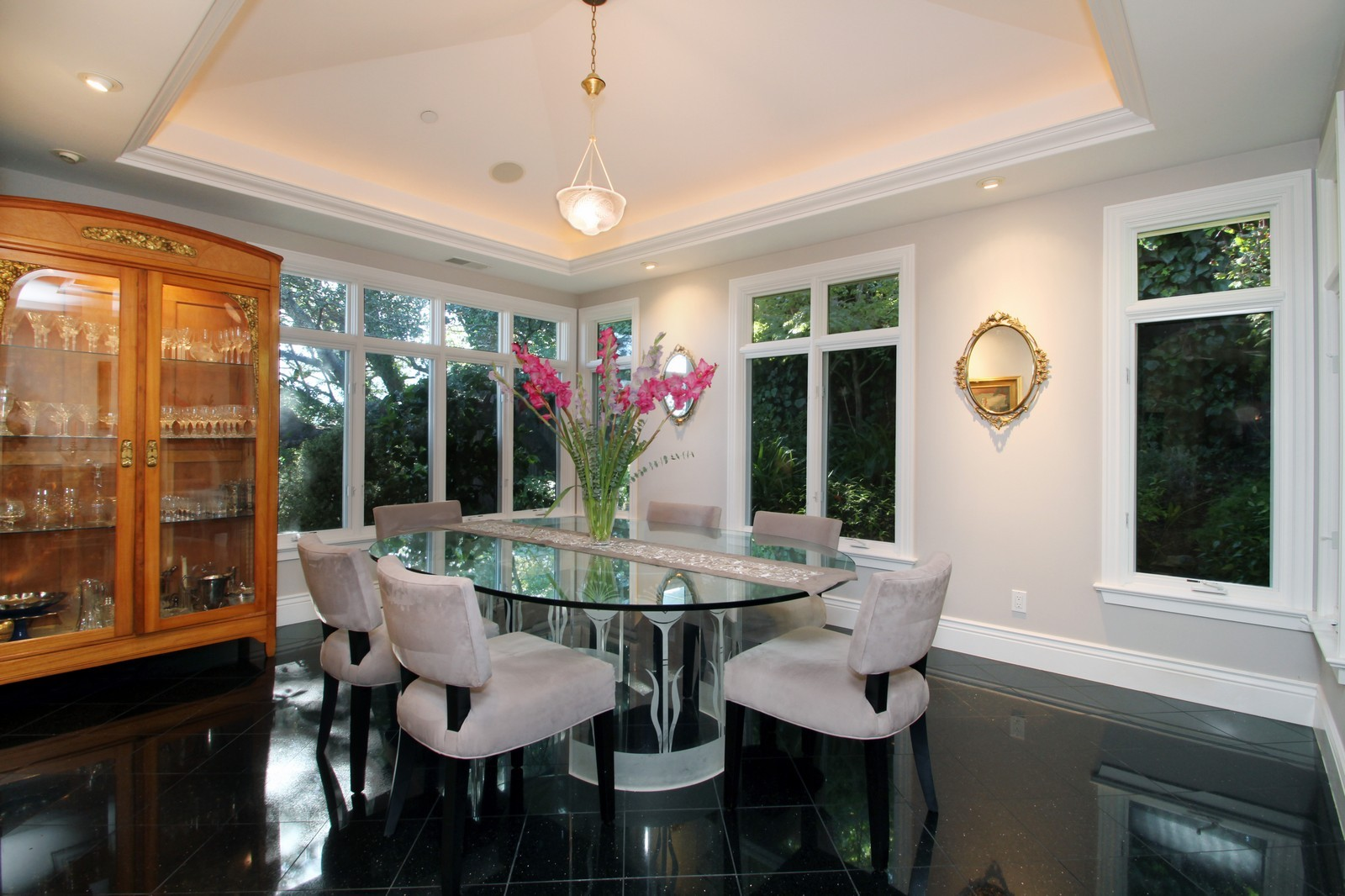 Real Estate Photography - 73 Upper Toyon Drive, Kentfield, CA, 94904 - Dining Room