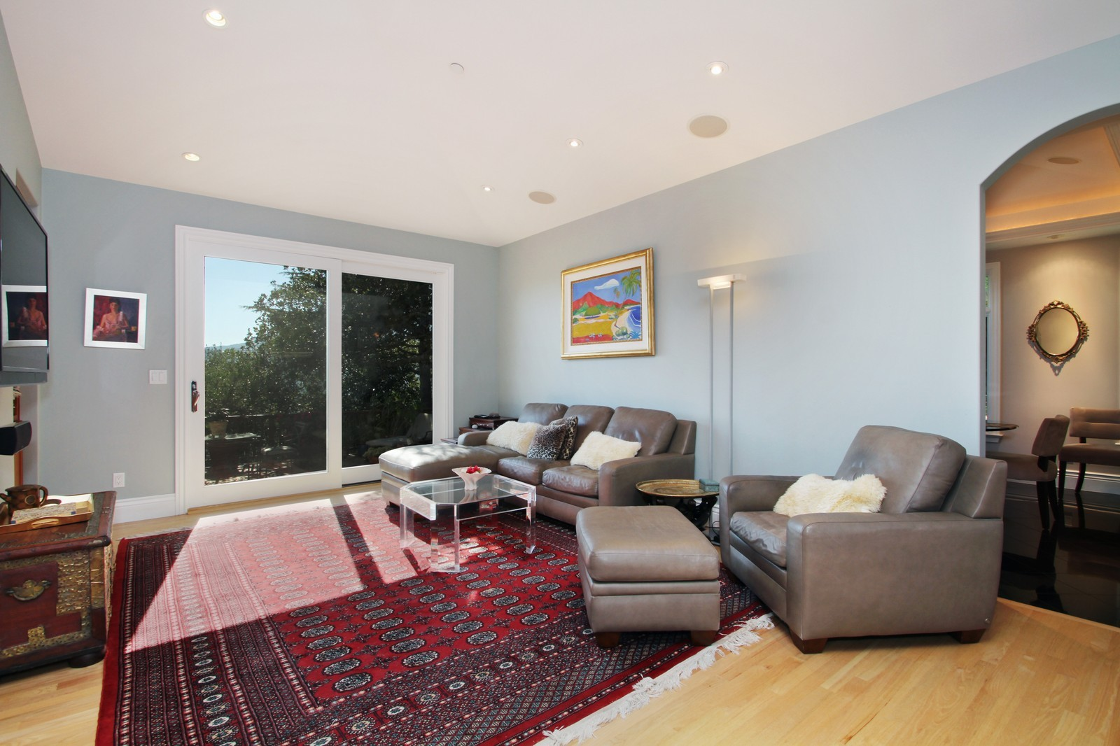 Real Estate Photography - 73 Upper Toyon Drive, Kentfield, CA, 94904 - Family Room