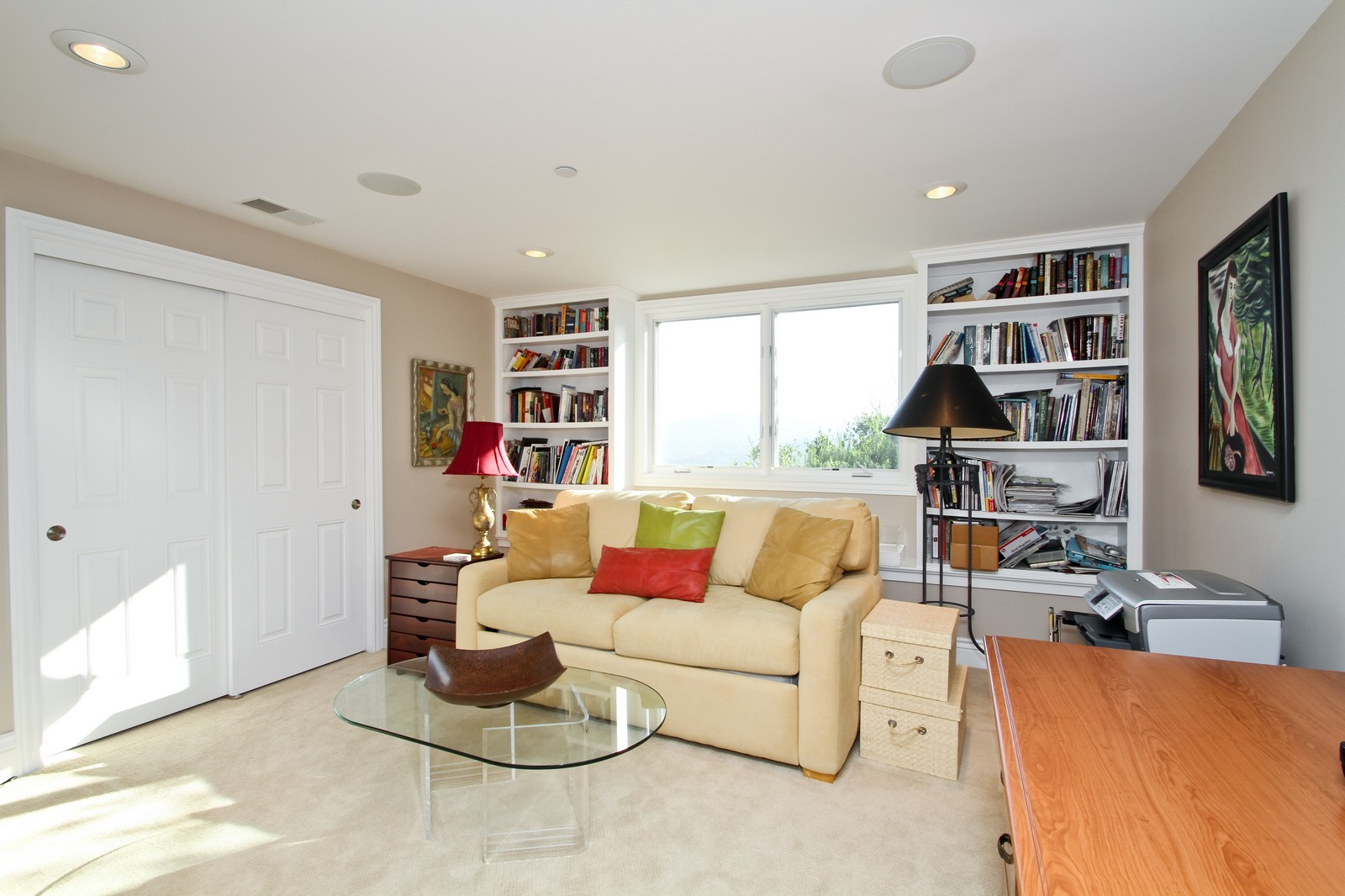 Real Estate Photography - 73 Upper Toyon Drive, Kentfield, CA, 94904 - Office