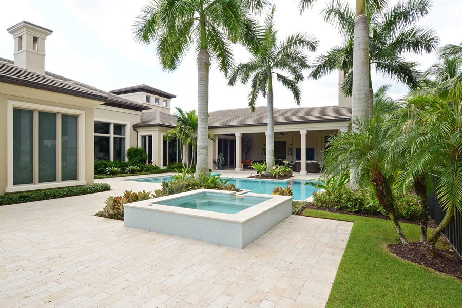 Real Estate Photography - 11765 Calla Lilly Ct, Palm Beach Gardens Government, FL, 33418 - Back Yard