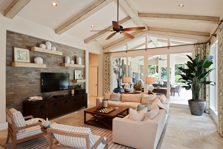 Real Estate Photography - 11765 Calla Lilly Ct, Palm Beach Gardens Government, FL, 33418 - Family Room