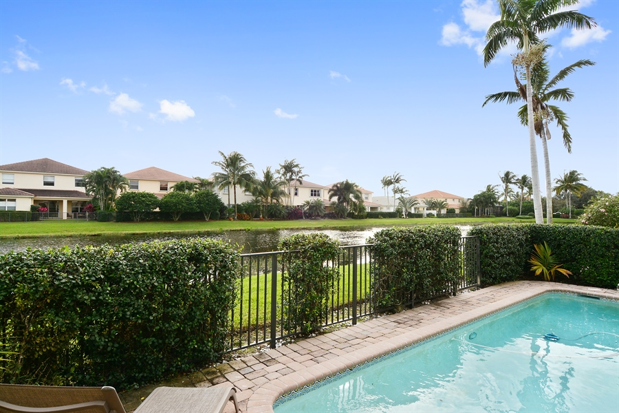 Real Estate Photography - 115 Isle Verde, Palm Beach Gardens, FL, 33418 - Rear View