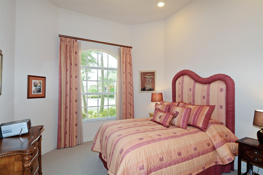 Real Estate Photography - 293 Porto Vecchio, Palm Beach Gardens, FL, 33418 - 2nd Bedroom