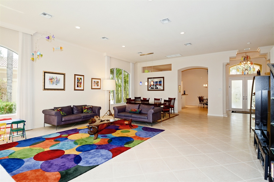Real Estate Photography - 293 Porto Vecchio, Palm Beach Gardens, FL, 33418 - Great Room