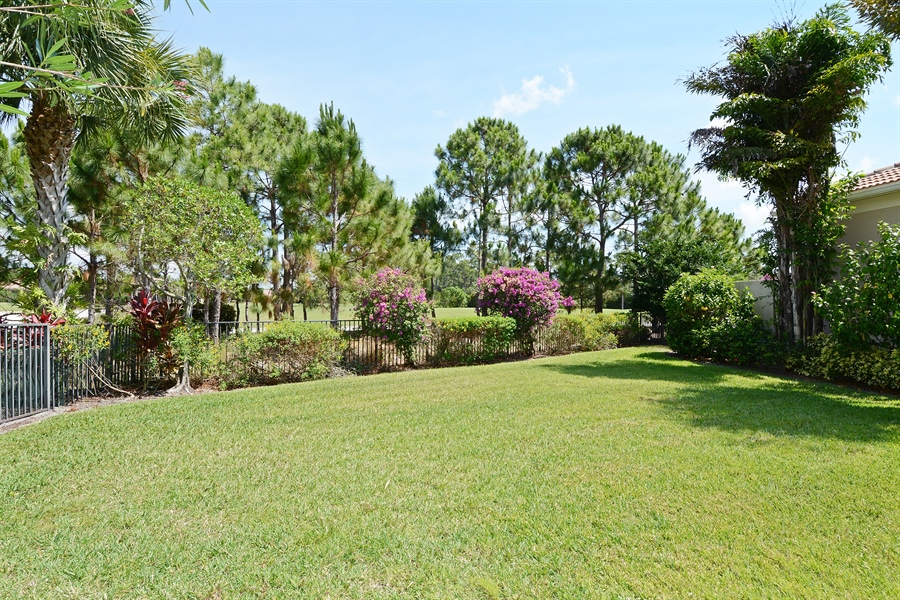 Real Estate Photography - 293 Porto Vecchio, Palm Beach Gardens, FL, 33418 - Rear View
