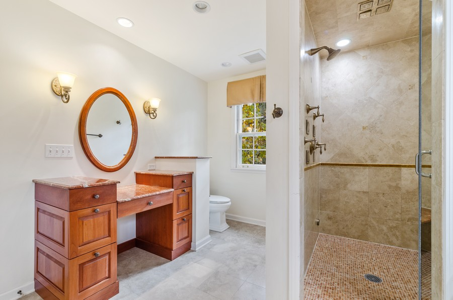 Real Estate Photography - 1108 Forest Hill, Lake Forest, IL, 60045 - Master Bathroom