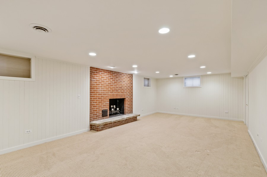 Real Estate Photography - 1108 Forest Hill, Lake Forest, IL, 60045 - Basement