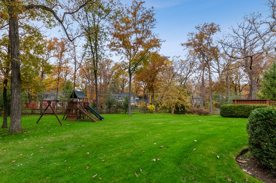 Real Estate Photography - 1108 Forest Hill, Lake Forest, IL, 60045 - Back Yard