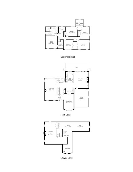 Real Estate Photography - 1108 Forest Hill, Lake Forest, IL, 60045 - Floor Plan