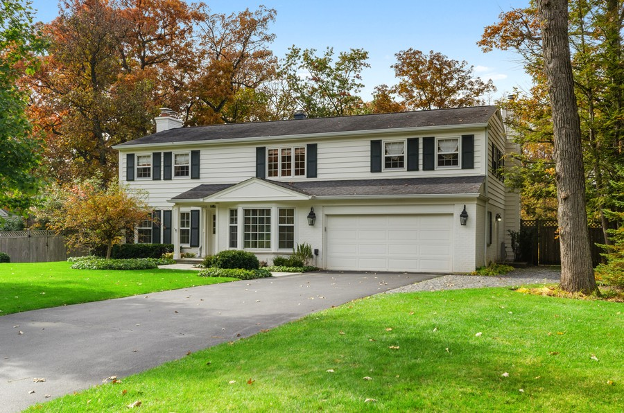 Real Estate Photography - 1108 Forest Hill, Lake Forest, IL, 60045 - Front View