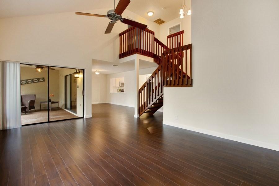 Real Estate Photography - 619 Deer Creek North Shore Drive, Deerfield Beach, FL, 33442 - Living Room