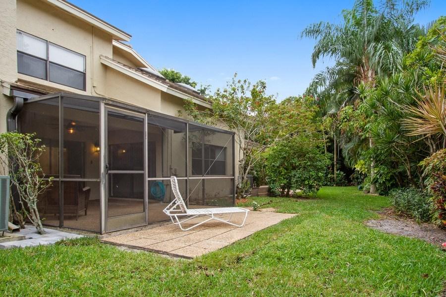 Real Estate Photography - 619 Deer Creek North Shore Drive, Deerfield Beach, FL, 33442 - Back Yard