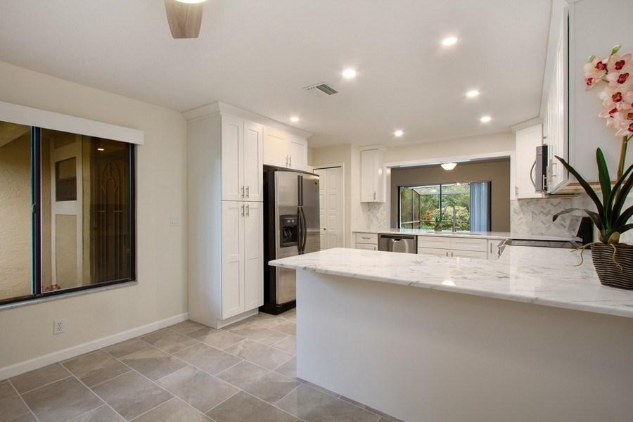 Real Estate Photography - 619 Deer Creek North Shore Drive, Deerfield Beach, FL, 33442 - Breakfast Area