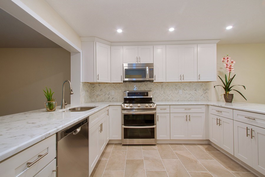 Real Estate Photography - 619 Deer Creek North Shore Drive, Deerfield Beach, FL, 33442 - Kitchen
