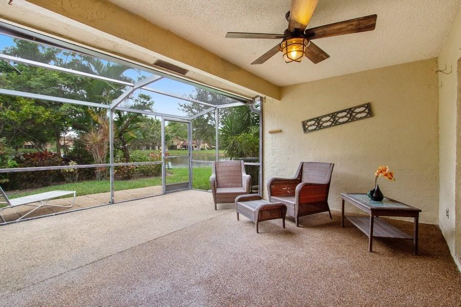 Real Estate Photography - 619 Deer Creek North Shore Drive, Deerfield Beach, FL, 33442 - Patio