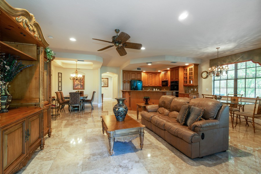 Real Estate Photography - 7601 Old Thyme Ct, Parkland, FL, 33076 - Living Room