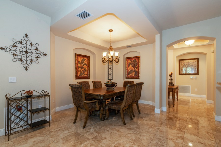 Real Estate Photography - 7601 Old Thyme Ct, Parkland, FL, 33076 - Dining Room