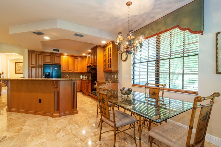 Real Estate Photography - 7601 Old Thyme Ct, Parkland, FL, 33076 - Breakfast Room