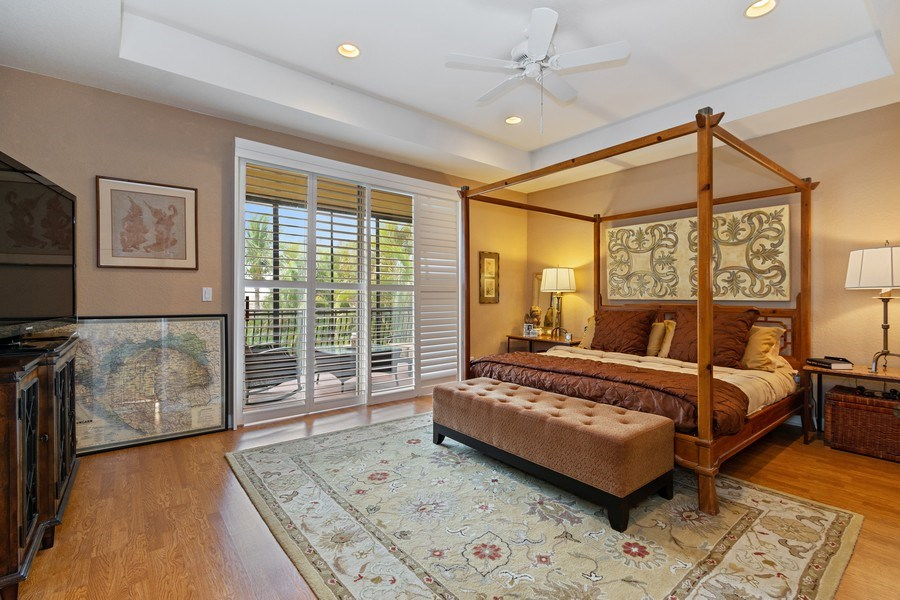 Real Estate Photography - 6609 NW 128 Way, Parkland, FL, 33076 - Master Bedroom