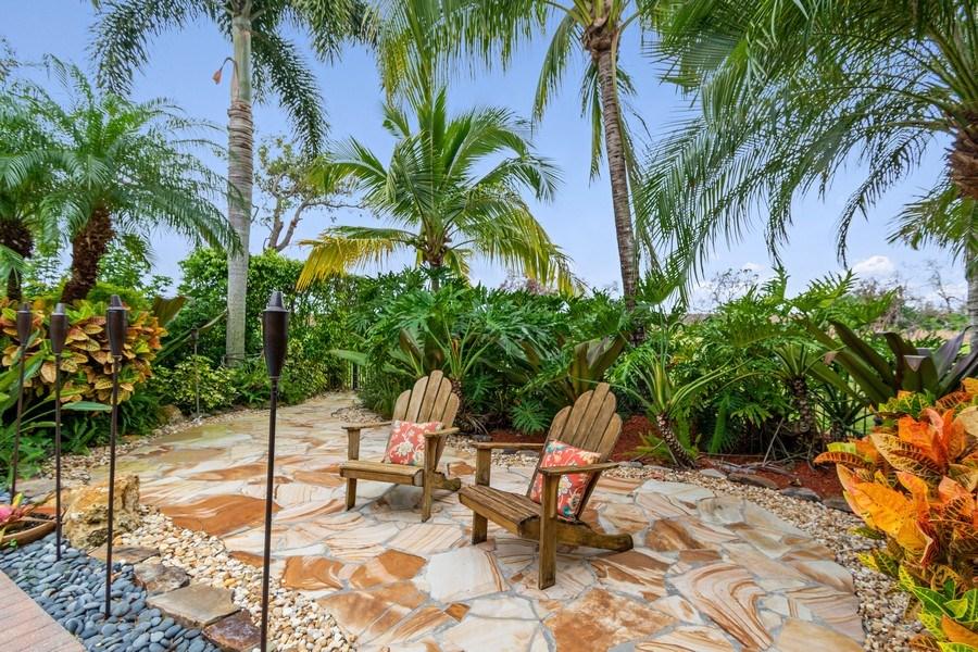 Real Estate Photography - 6609 NW 128 Way, Parkland, FL, 33076 - Back Yard