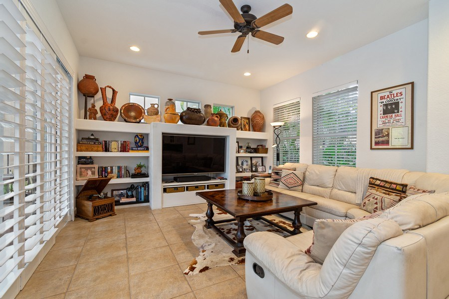 Real Estate Photography - 6609 NW 128 Way, Parkland, FL, 33076 - Family Room