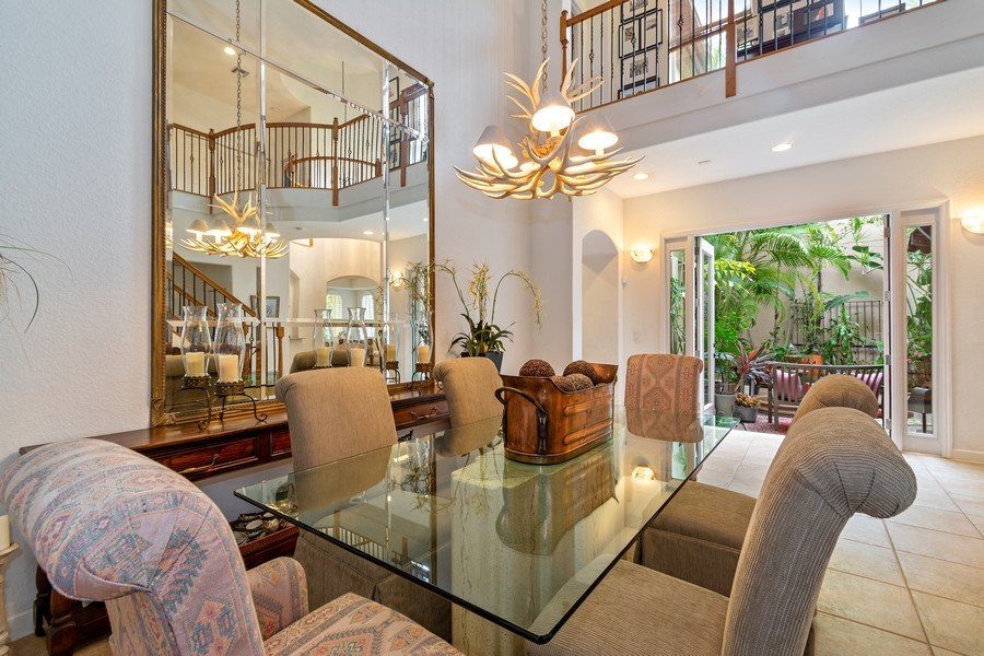Real Estate Photography - 6609 NW 128 Way, Parkland, FL, 33076 - Dining Area