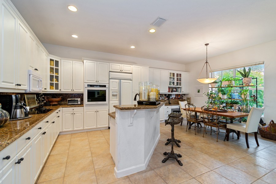 Real Estate Photography - 6609 NW 128 Way, Parkland, FL, 33076 - Kitchen
