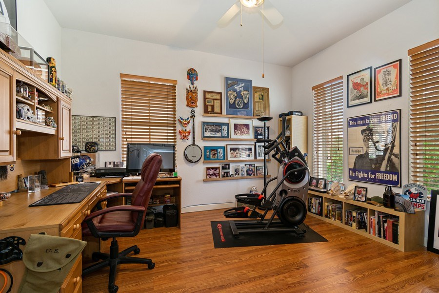 Real Estate Photography - 6609 NW 128 Way, Parkland, FL, 33076 - Office