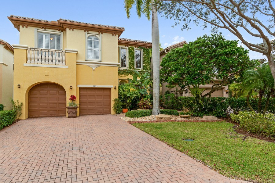 Real Estate Photography - 6609 NW 128 Way, Parkland, FL, 33076 - Front View