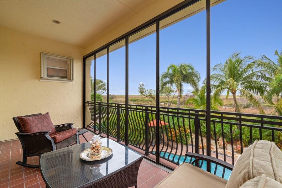 Real Estate Photography - 6609 NW 128 Way, Parkland, FL, 33076 - Balcony