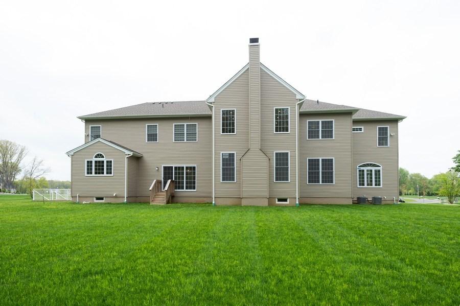 Real Estate Photography - 30 Weathervane Cir, Cream Ridge, NJ, 08514 - Rear View