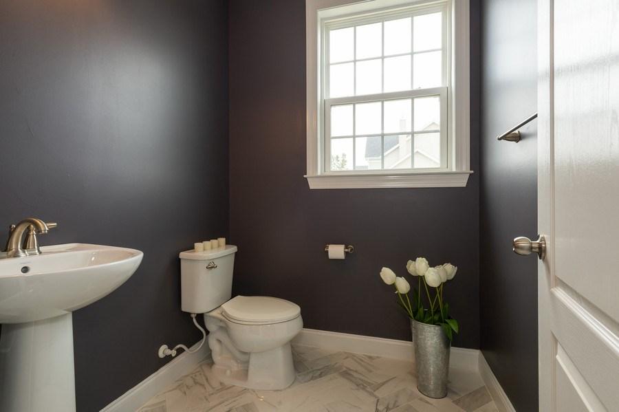 Real Estate Photography - 14 Manchester Ct, Columbus, NJ, 08022 - Half Bath