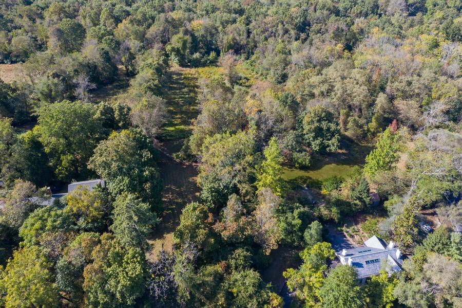 Real Estate Photography - 1108 Kingston Road, Princeton, NJ, 08540 - Aerial View