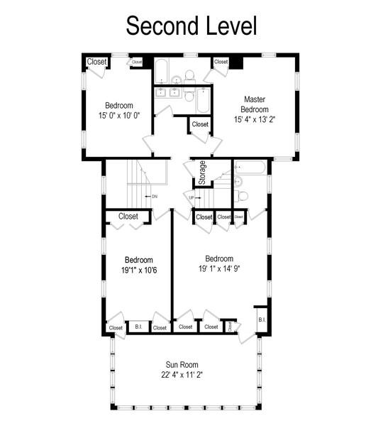 Real Estate Photography - 1108 Kingston Road, Princeton, NJ, 08540 - Floor Plan