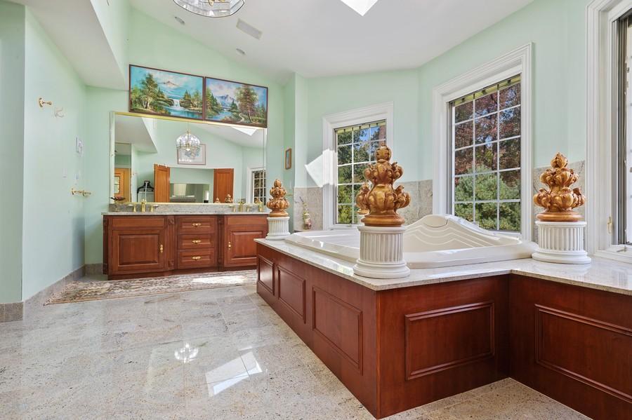 Real Estate Photography - 76 Pettit Pl, Princeton, NJ, 08540 - Master Bathroom