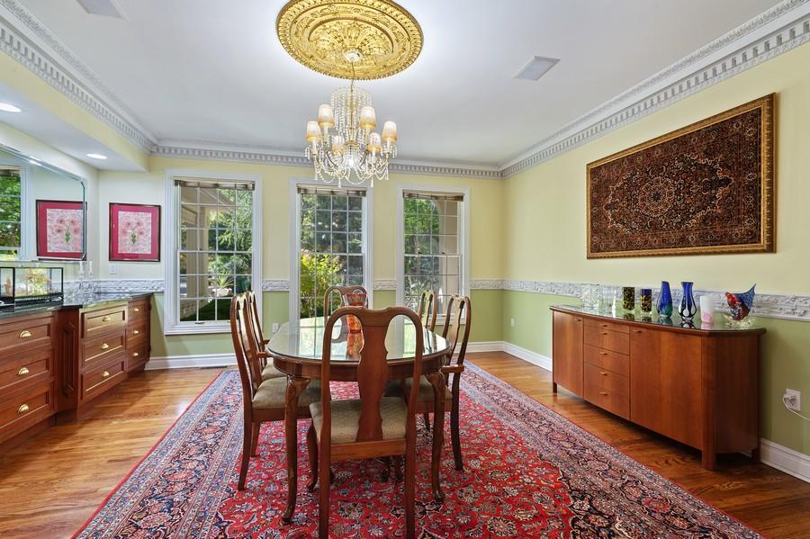 Real Estate Photography - 76 Pettit Pl, Princeton, NJ, 08540 - Dining Room