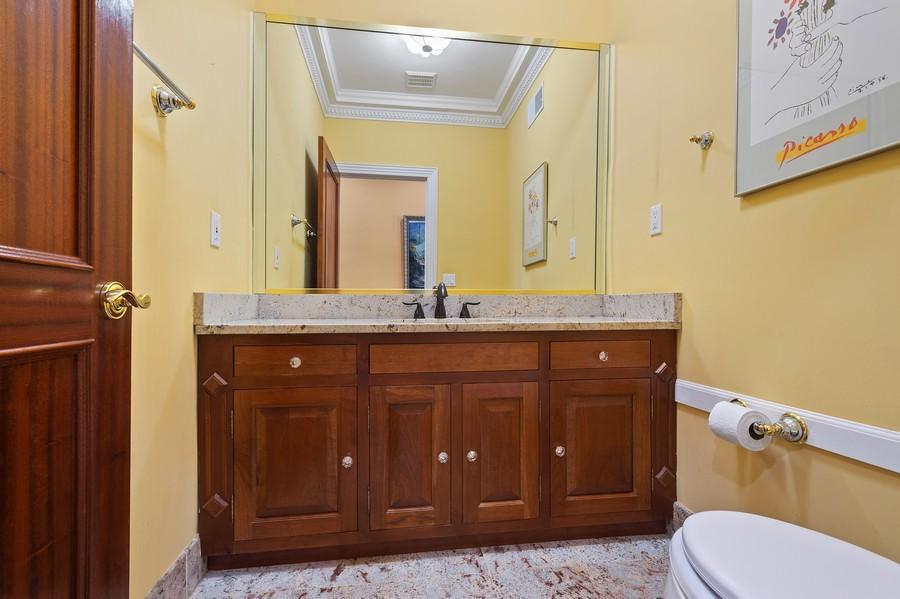 Real Estate Photography - 76 Pettit Pl, Princeton, NJ, 08540 - Powder Room