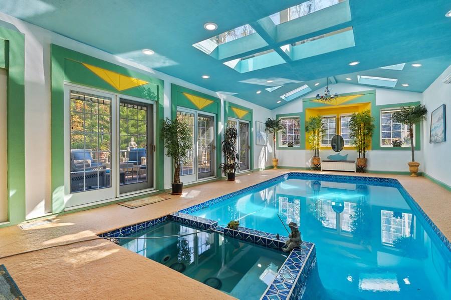 Real Estate Photography - 76 Pettit Pl, Princeton, NJ, 08540 - Pool