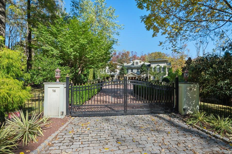 Real Estate Photography - 76 Pettit Pl, Princeton, NJ, 08540 - Gated Grand Entrance