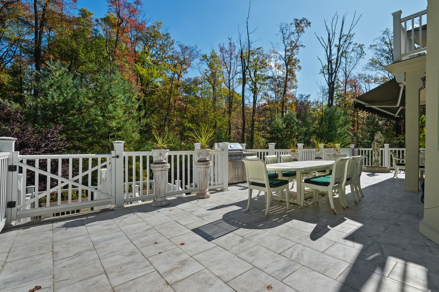 Real Estate Photography - 76 Pettit Pl, Princeton, NJ, 08540 - Deck