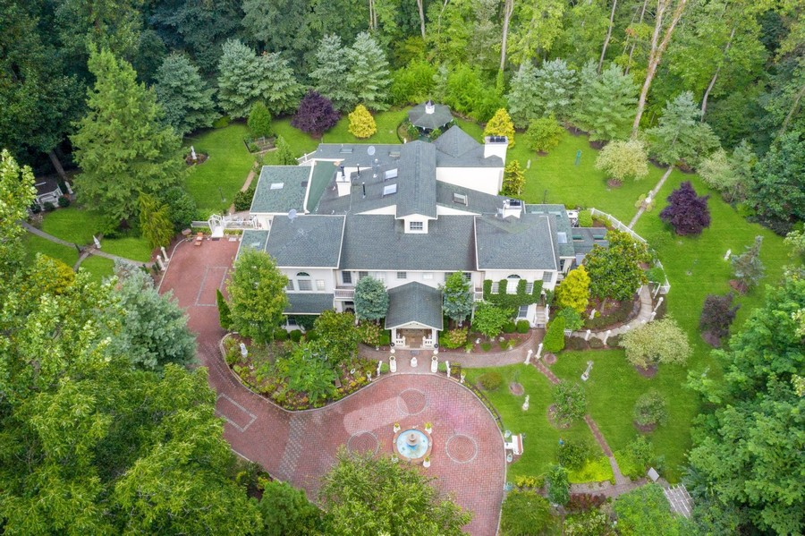 Real Estate Photography - 76 Pettit Pl, Princeton, NJ, 08540 - Aerial View