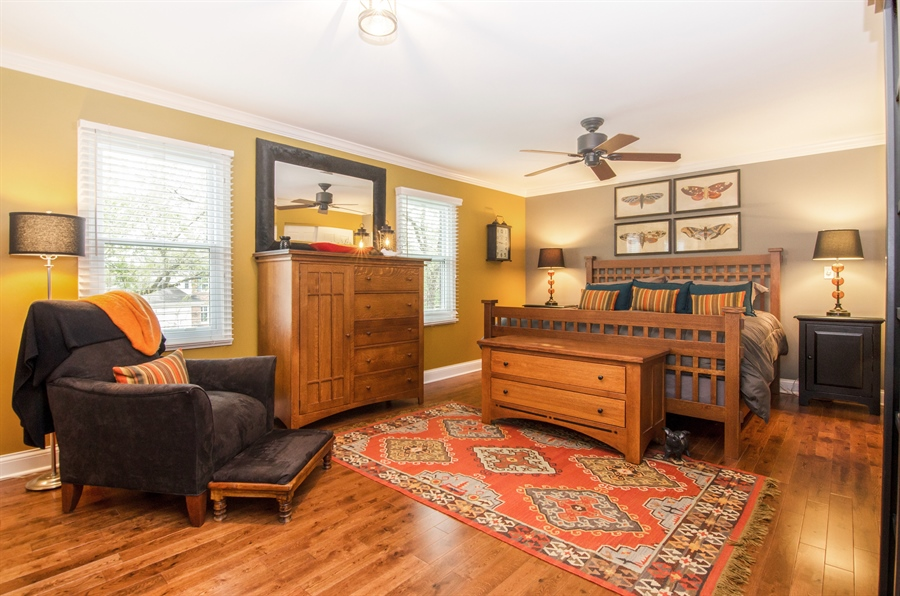 Real Estate Photography - 2609 Old Mill Ln, Rolling Meadows, IL, 60008 - Master Bedroom
