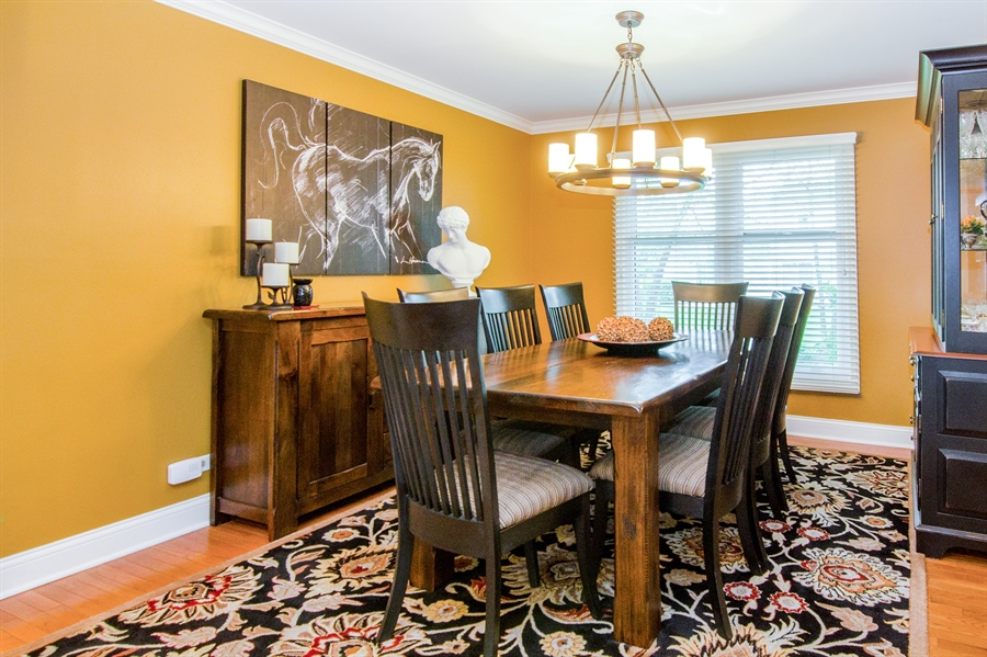 Real Estate Photography - 2609 Old Mill Ln, Rolling Meadows, IL, 60008 - Dining Room
