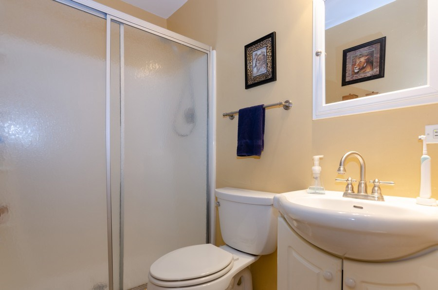 Real Estate Photography - 1992 Raleigh Pl, Hoffman Estates, IL, 60169 - Master Bathroom