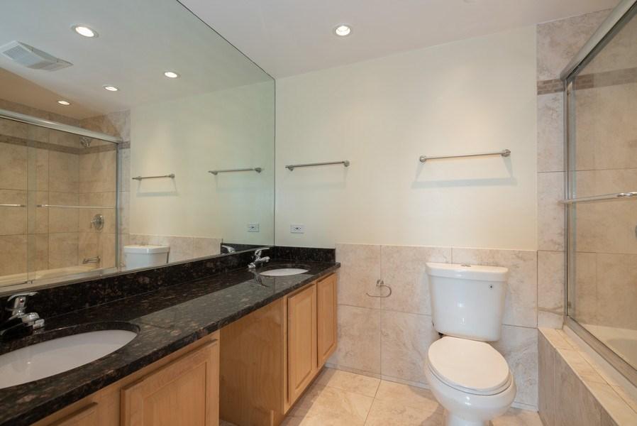 Real Estate Photography - 1 Renaissance Pl, Unit 809, Palatine, IL, 60067 - Master Bathroom