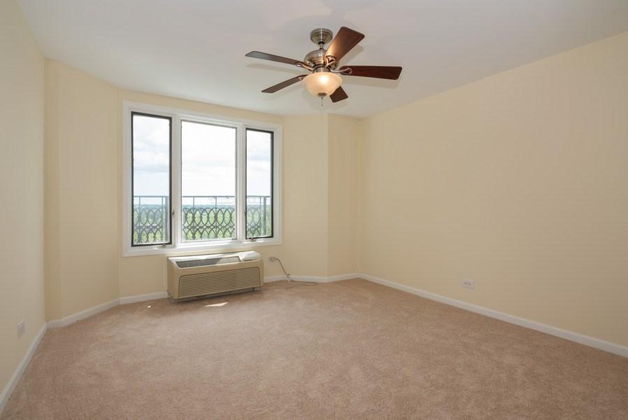 Real Estate Photography - 1 Renaissance Pl, Unit 809, Palatine, IL, 60067 - 2nd Bedroom