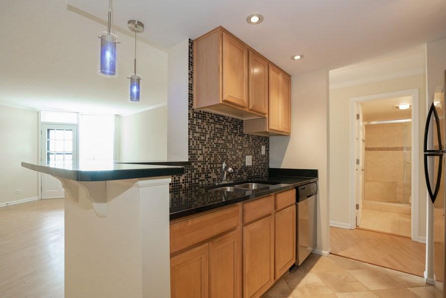 Real Estate Photography - 1 Renaissance Pl, Unit 809, Palatine, IL, 60067 - Kitchen