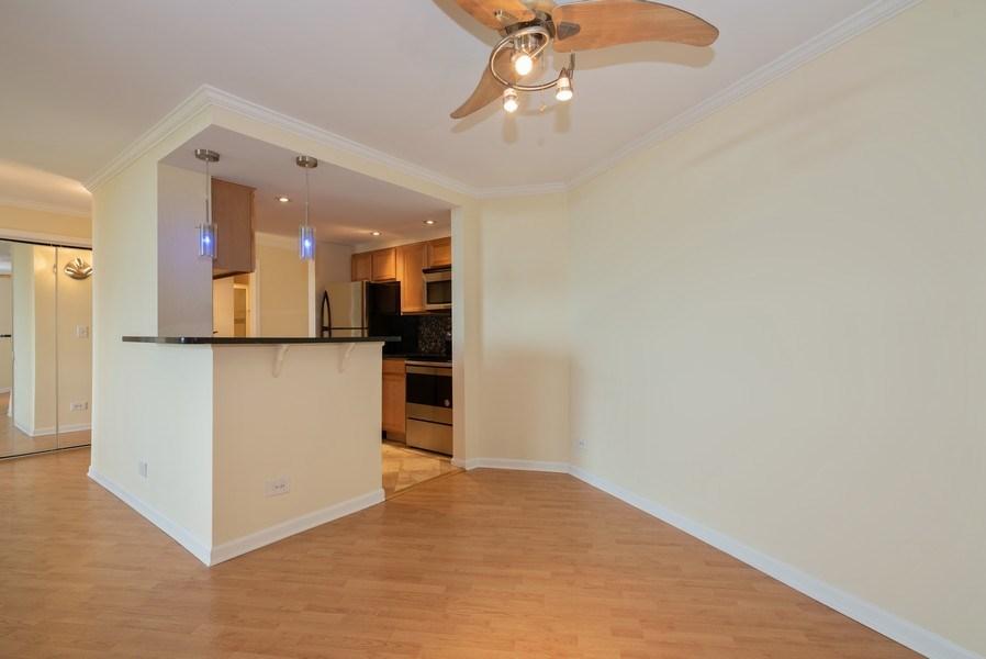 Real Estate Photography - 1 Renaissance Pl, Unit 809, Palatine, IL, 60067 - Dining Room