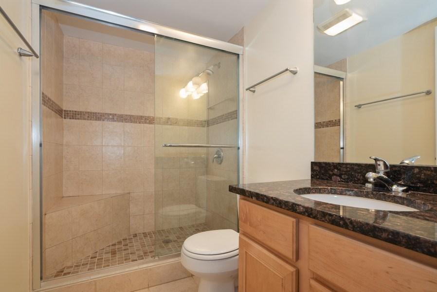 Real Estate Photography - 1 Renaissance Pl, Unit 809, Palatine, IL, 60067 - 2nd Bathroom