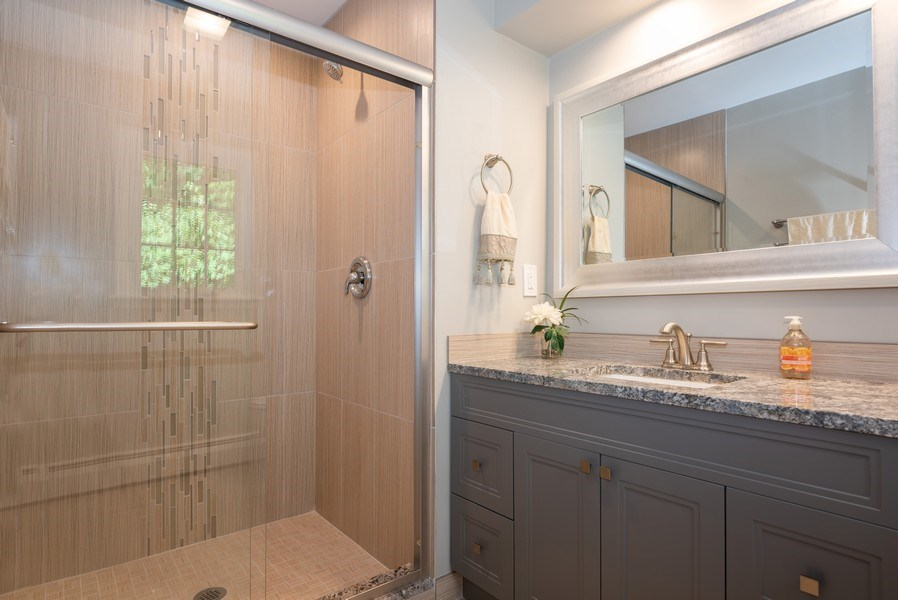 Real Estate Photography - 184 Stonegate Rd, Trout Valley, IL, 60013 - Master Bathroom